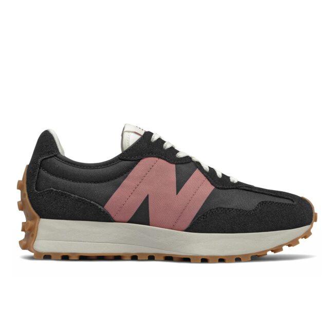 New Balance WS327HR1 Black/ Pink side 1